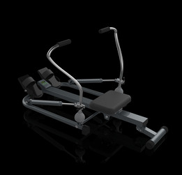 Dual Sculling rowing Machine
