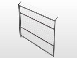 fence - Recent models   3D CAD Model Collection   GrabCAD Community