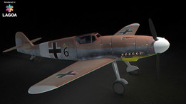 Messerschmitt Bf 109 or Me 109 Fighter