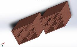 Elemento Vazado Diagonal