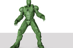 War Machine 3D Scan