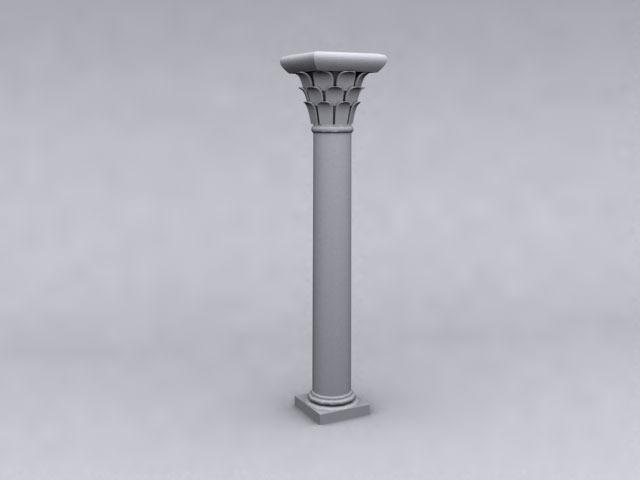 PILLAR | 3D CAD Model Library | GrabCAD
