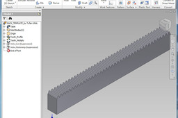 Rack Gear Template - According to DIN867 and Iso53 [Metric]