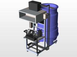 water cooled chiller 1hp