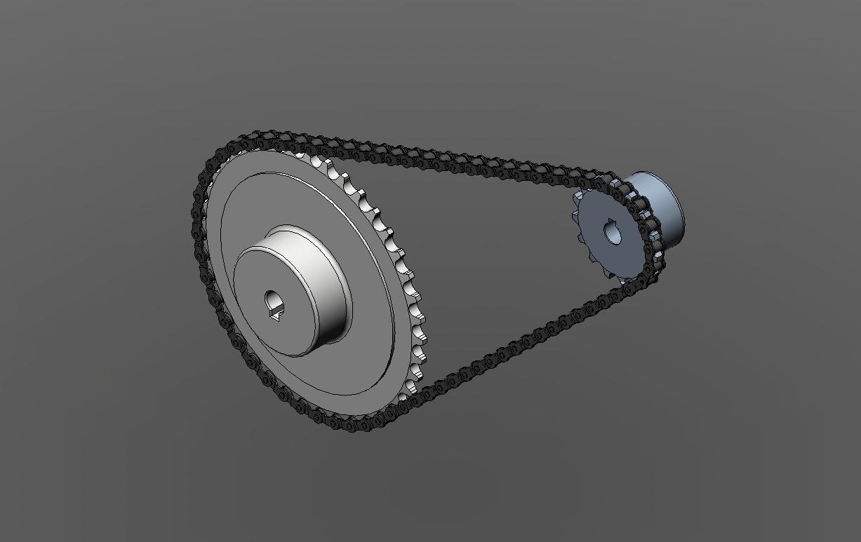 Chain Drive Mechanism Chain Drive