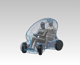 CRK Electric urban vehicle - nano