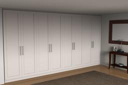 basement tv and storage unit
