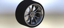 roda de carro VW