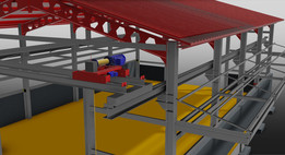 Project design Industrial warehouse