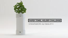 Umbra Paper Towel Holder Challenge