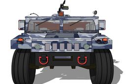 Hummer Humvee Military Vehicle