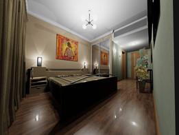 Quarto de Residencial - residencial room