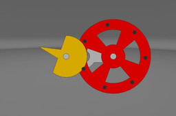 Inverted Geneva Mechanism