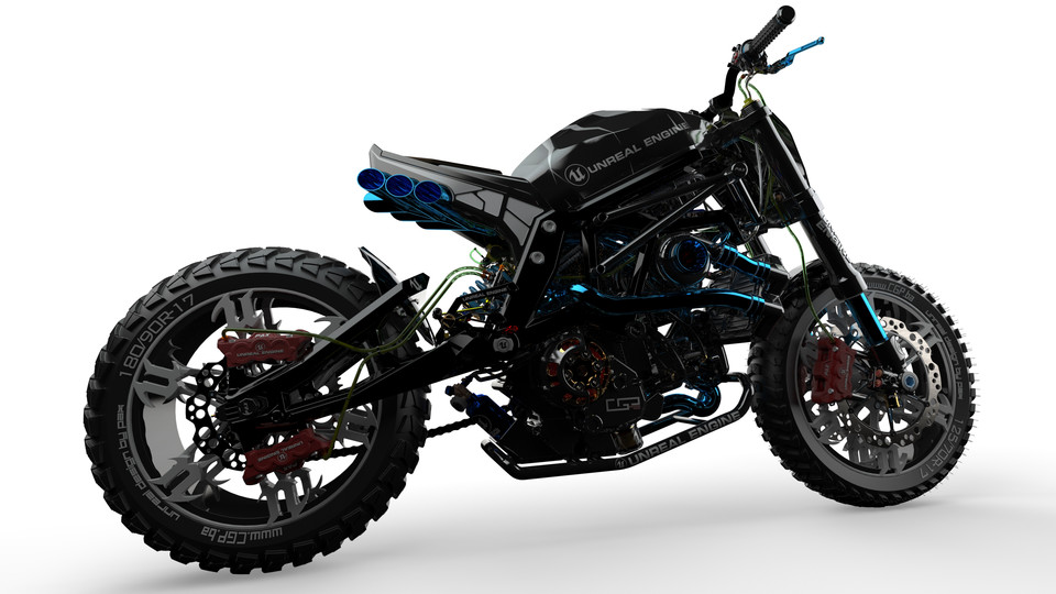 UNREAL bike by paX | 3D CAD Model Library | GrabCAD