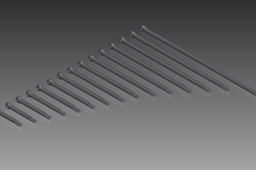 DIN 94 Split Pins (Cotter Pins). Nom. Diameter 1,6mm