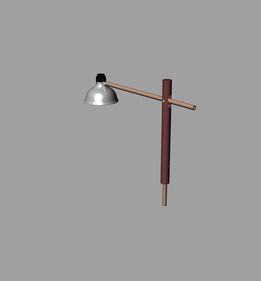 Modern Counterweight Dowel Lamp