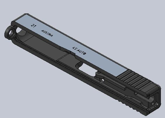 glock | 3D CAD Model Library | GrabCAD