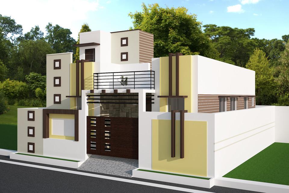 House Revit Exterior Design