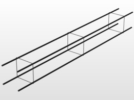 CHAÎNAGE CARRÉ/traillie/fer a beton