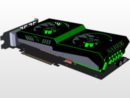 GTX 1070 concept graphics card