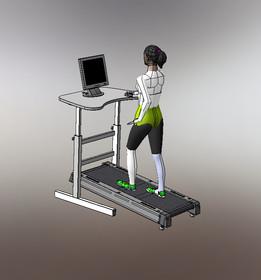 Treadmill Desk-1