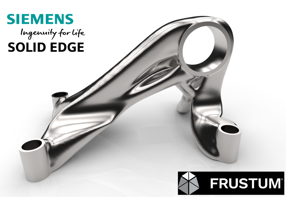 Topology optimization with Solid Edge Generative Design | 3D CAD