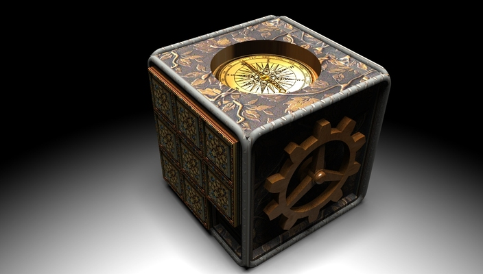 steampunk-compass-puzzle-box 1