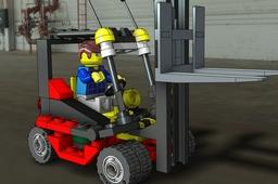 7733 Fork Lift LEGO set