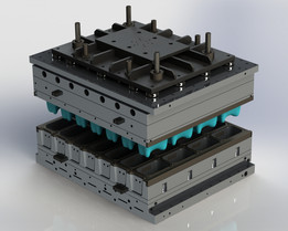 Plastic Thermoforming Mold (COMM.424)