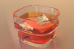 Glass and liquid IOR Study Rendering