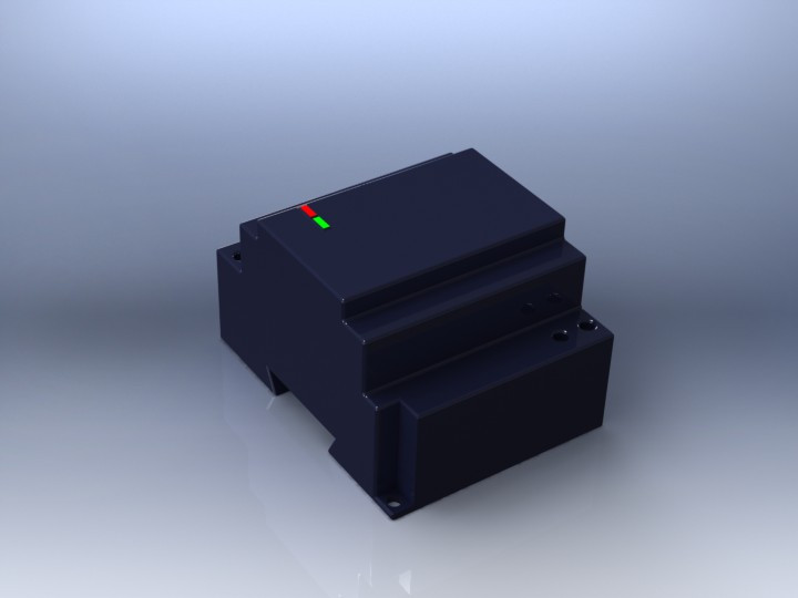 DIN Rail Mount Power Supplies DSP Series TDK | 3D CAD Model