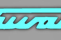 Simson Schwalbe Logo Schriftzug