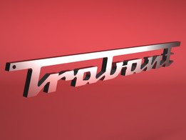 Trabant keychain made in PARTsolutions