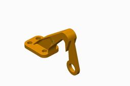 Airplane bearing bracket challenge