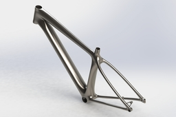 World First Metal 3D Printed Bicycle Frame