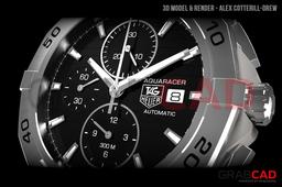 Tag Heuer Aquaracer Watch CAP2110.BA0833