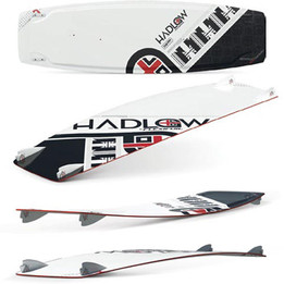 Hadlow Freestyle Kiteboard 2011