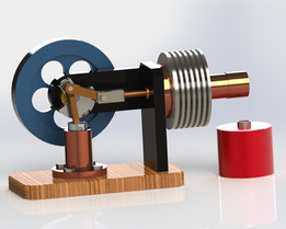 Stirling engine 2-90M