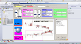 SW2012 tolerances GUI study