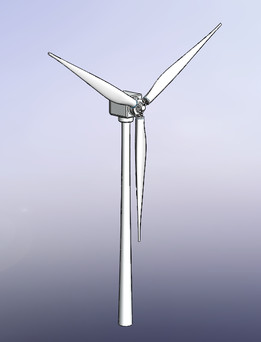 wind turbine - Recent models | 3D CAD Model Collection