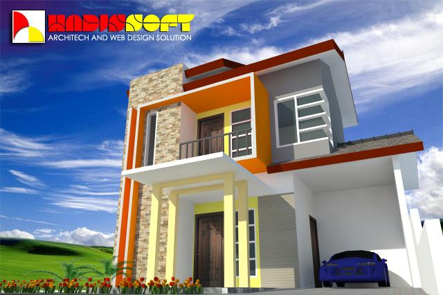 Minimalist House 3d Cad Model Library Grabcad