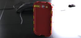 Galaxy S3 Phone Case, Trim
