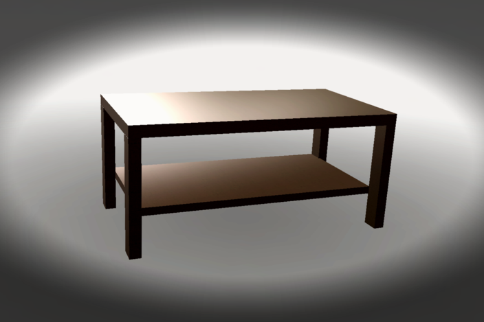 tv table autocad 3d cad model grabcad. Black Bedroom Furniture Sets. Home Design Ideas