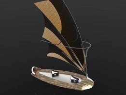 Solar-Ion Sailboard Concept