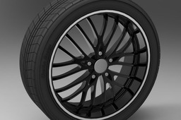 Wheel rim ADVANTI SG79 and tire