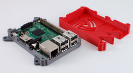 Raspberry Pi 2 (and B+) case with VESA mounting