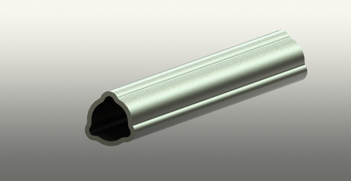 pipe Pto sliding shaft parametric