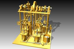 Gorgon beam engine