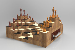 Chess Board New Concept