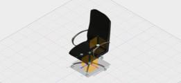 Ensamble Final Silla Fusion 360_AlfredoMoralesLey